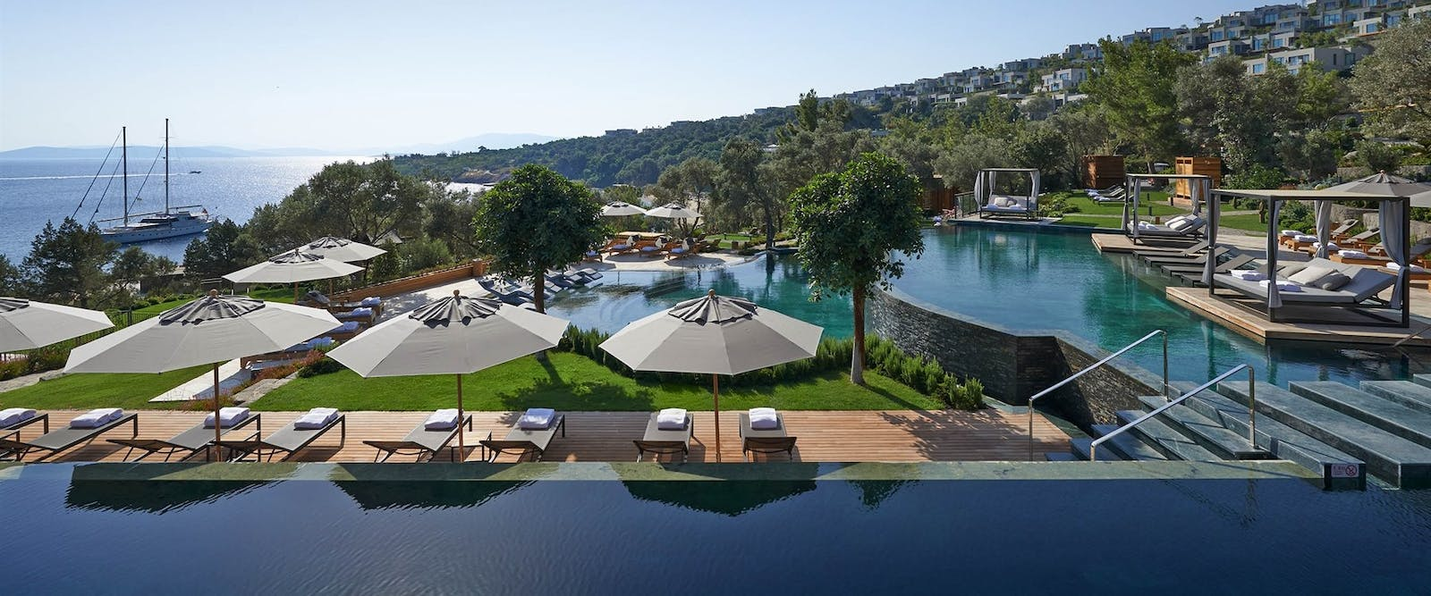 Main Pool at Mandarin Oriental Bodrum, Turkey