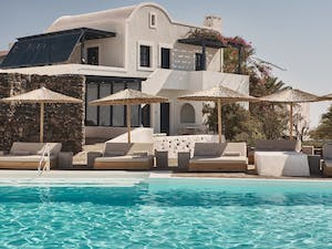 Main Pool at Vedema, a Luxury Collection Resort, Santorini, Greece