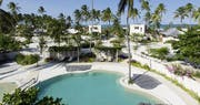 Overview of pool area at Zanzibar White Sand Luxury Villas and Spa