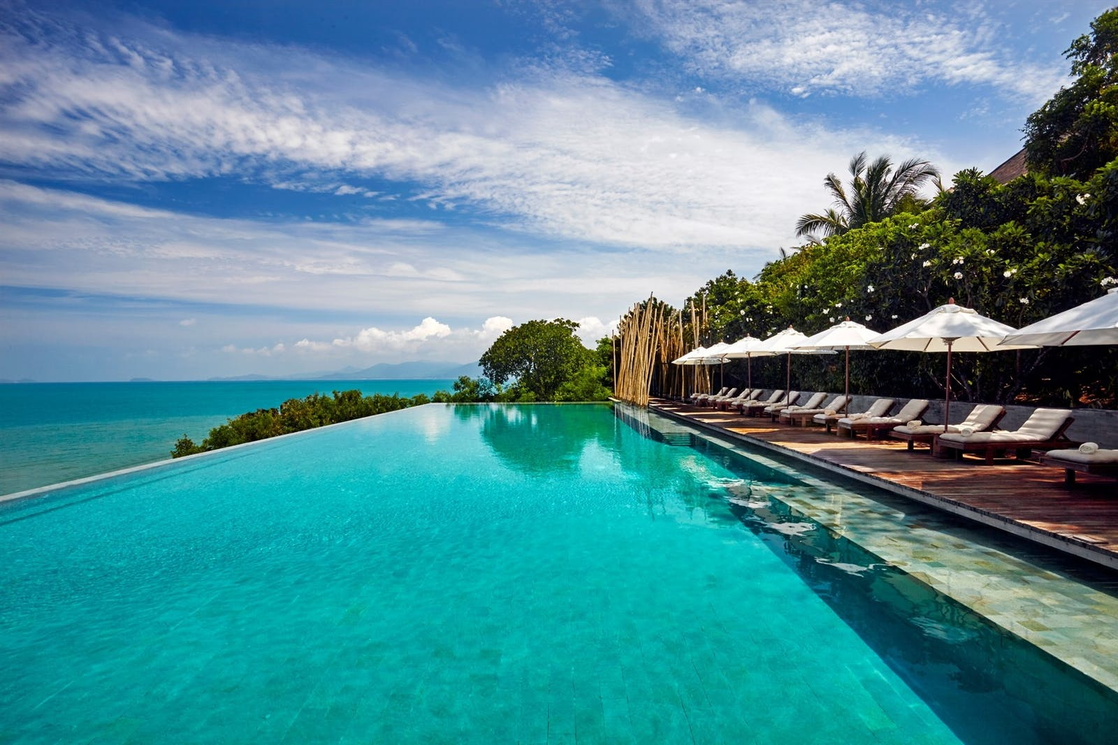 Main pool, Six Senses Samui, Koh Samui, Thailand