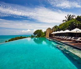 Double savings and board upgrade in Samui with panorama views of the Gulf of Thailand<place>Six Senses Samui</place><fomo>143</fomo>