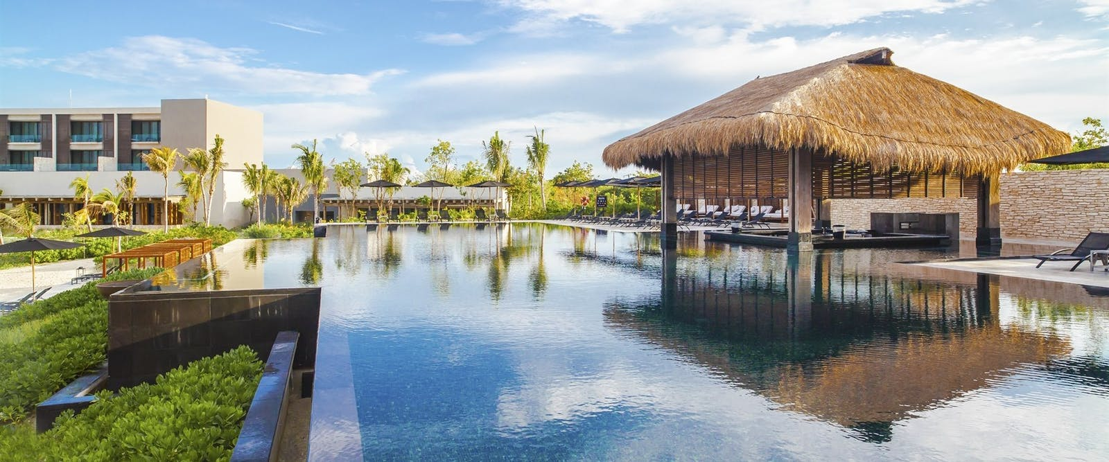 Main pool at NIZUC Resort and Spa, Riviera Maya