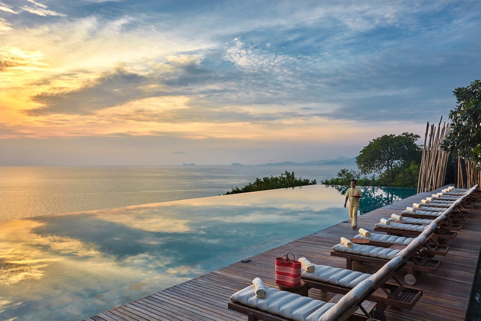 Pool views, Six Senses Samui, Koh Samui, Thailand