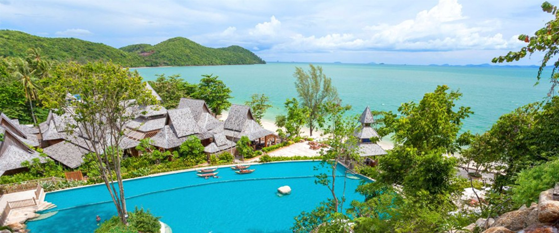 Main pool at Santhiya Koh Yao Yai Resort & Spa