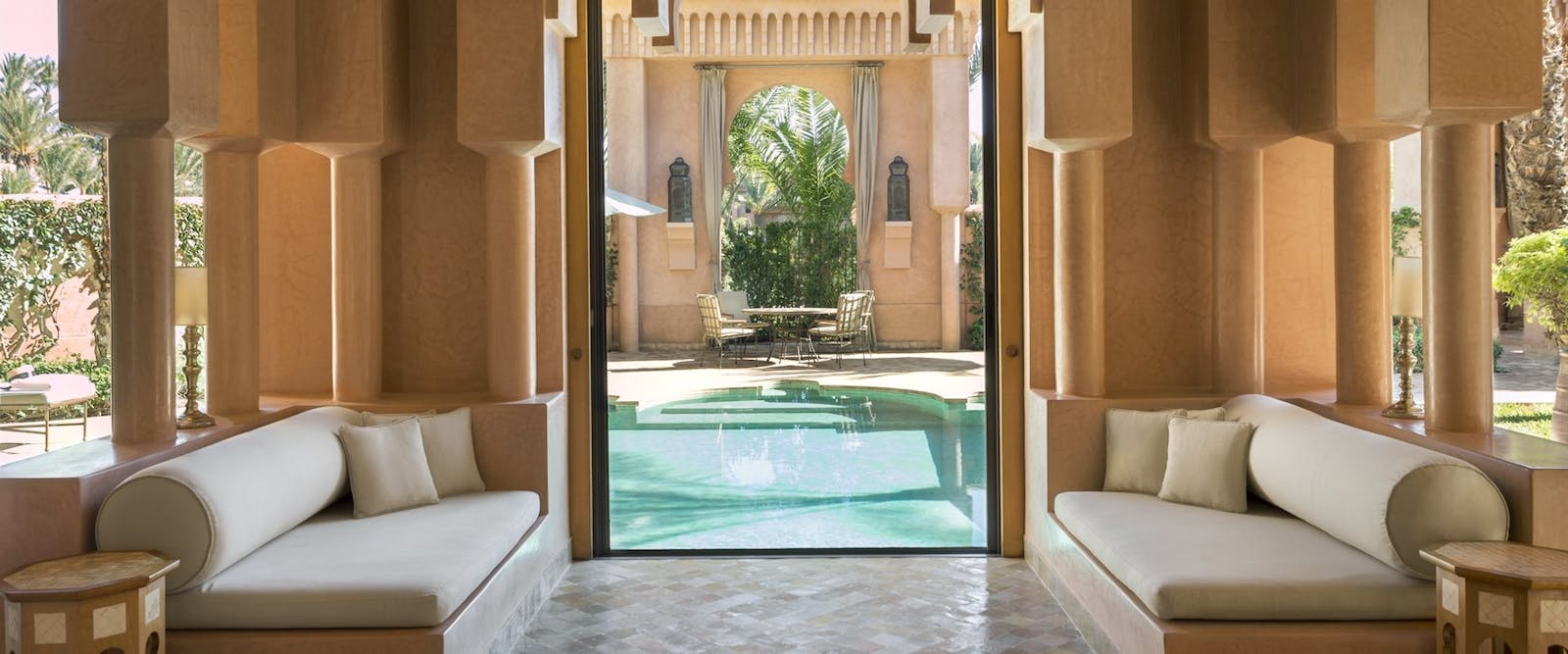 Maisons Private Pool at Amanjena, Marrakech, Morocco