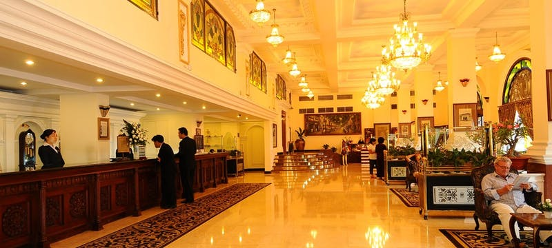 Lobby at Hotel Majestic