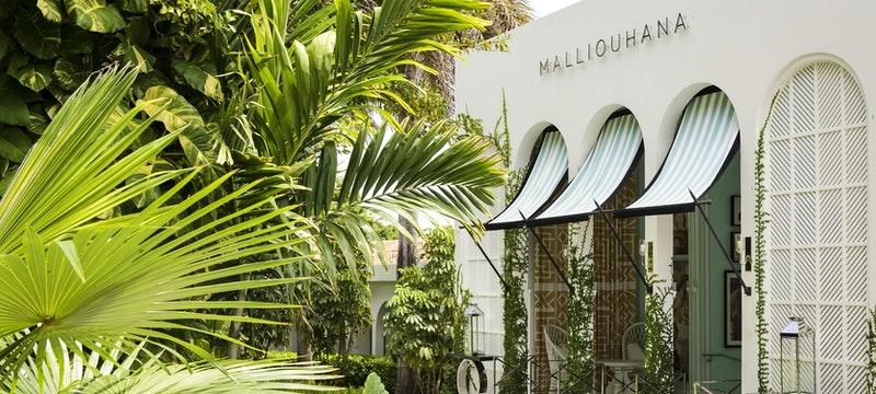 Entrance to Malliohana, Anguilla