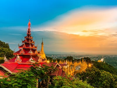 Arrive Mandalay