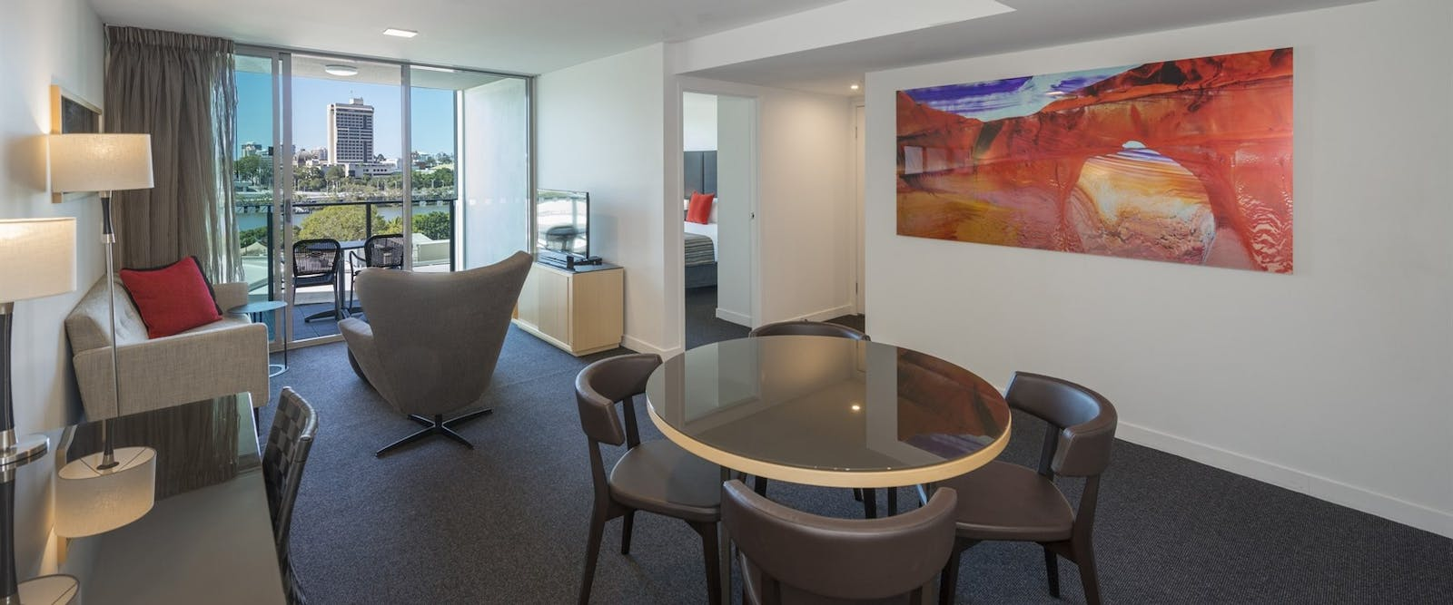 1 bedroom city view at Mantra Southbank Brisbane