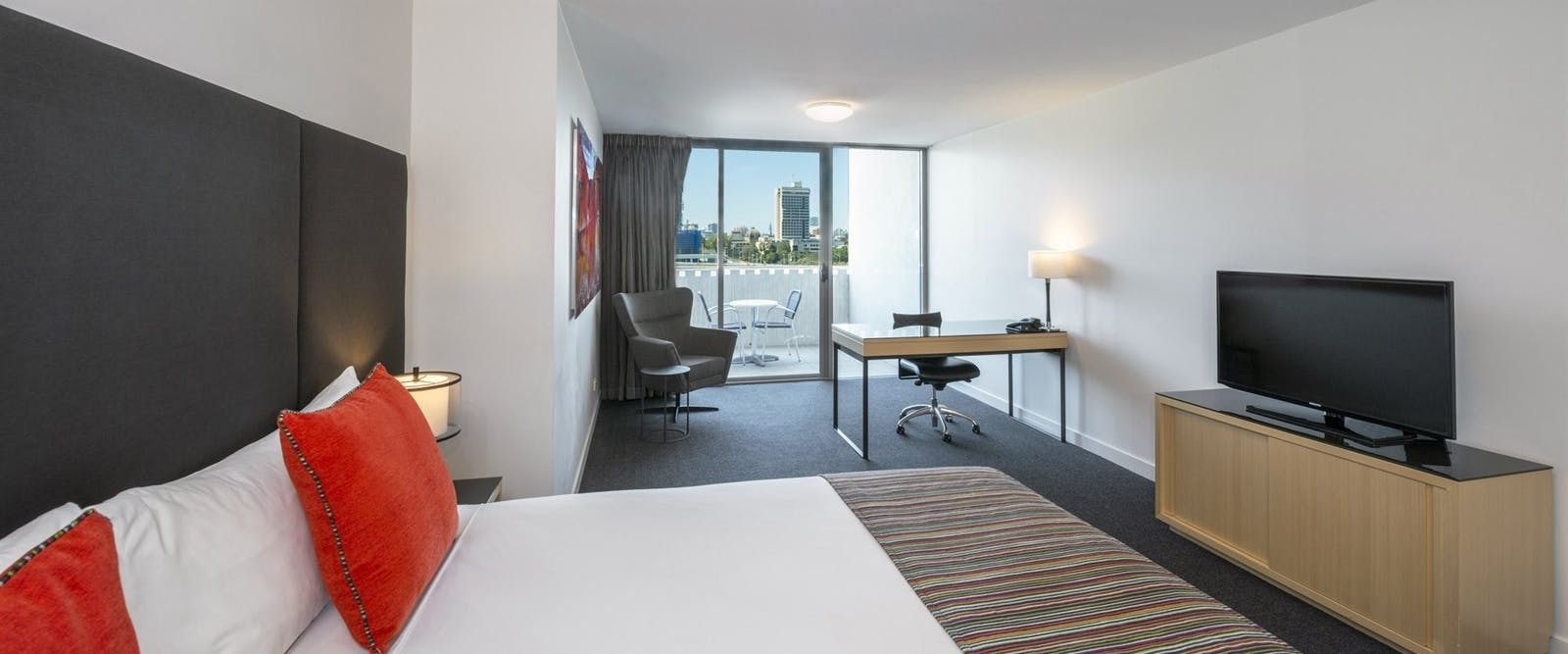 room with city view at Mantra Southbank Brisbane