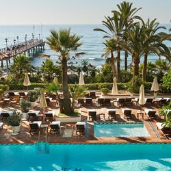 Overview of Marbella Club Hotel Golf Resort & Spa, Costa Del Sol, Spain