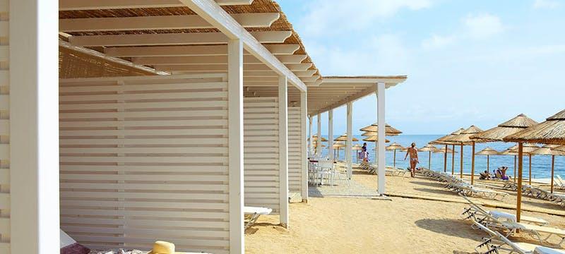 Beach at Marbella Corfu, Greece