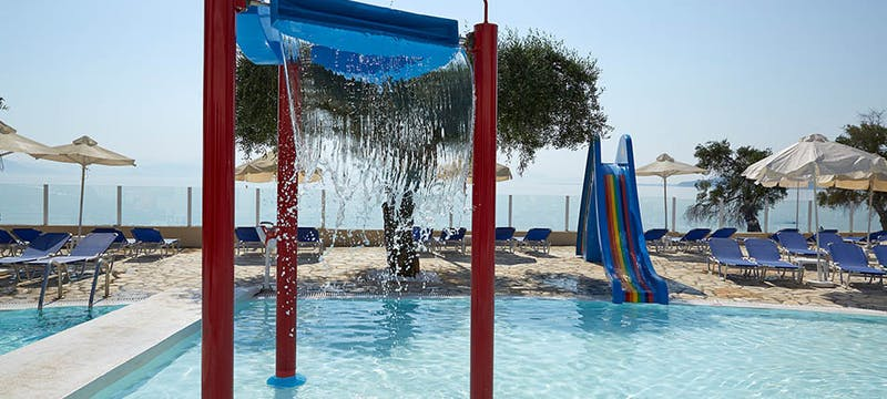 Kids pool at Marbella Corfu, Greece