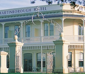 Exterior of The Martinborough Hotel