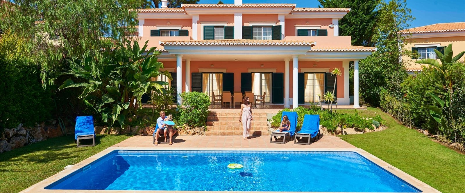 Luxury Villa Exterior at Martinhal Quinta Family Resort, Algarve