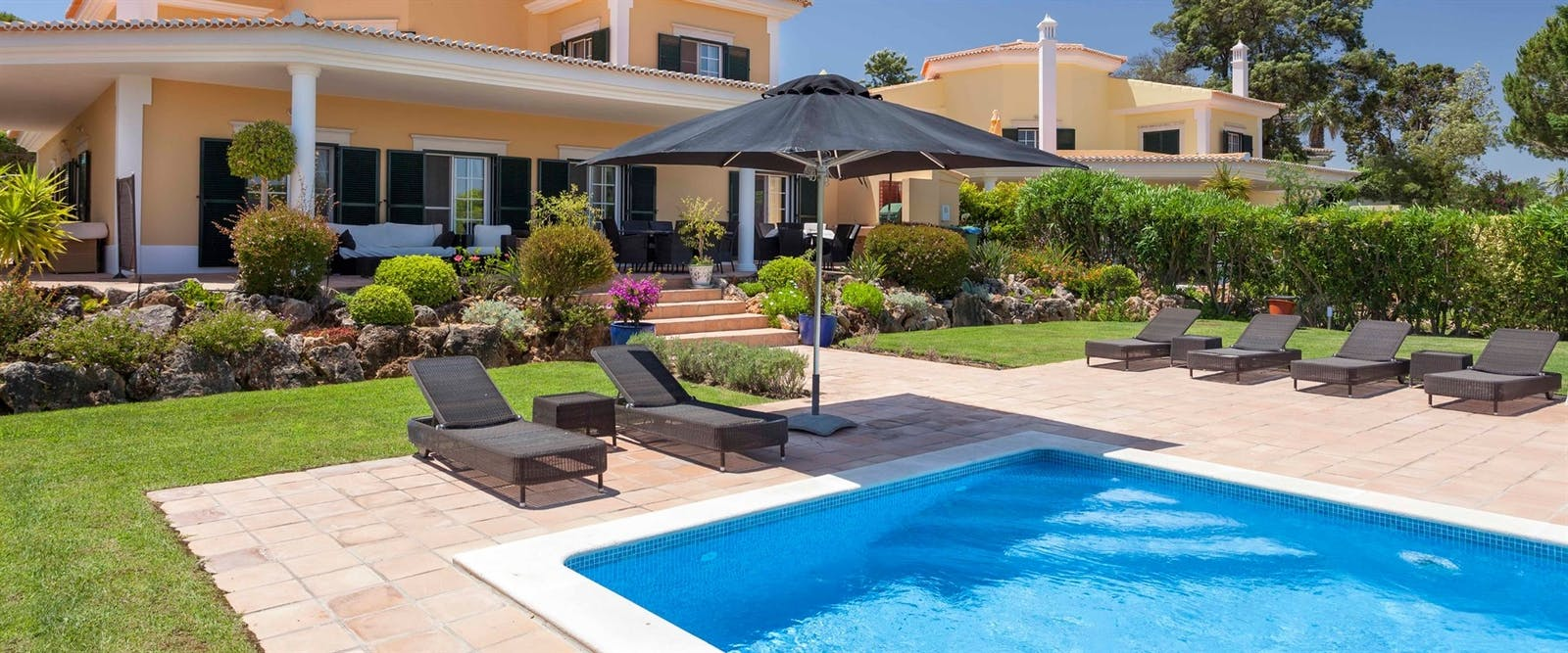 Luxury Villa Pool at Martinhal Quinta Family Resort, Algarve