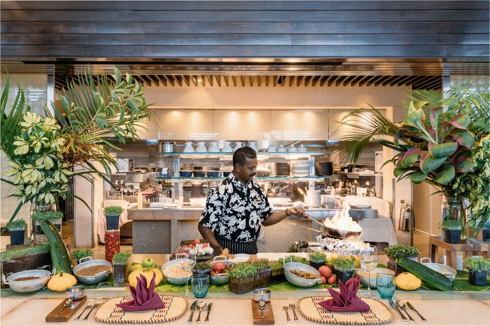 Chef's Table at Beau Camp, Four Seasons Resort Mauritius at Anahita
