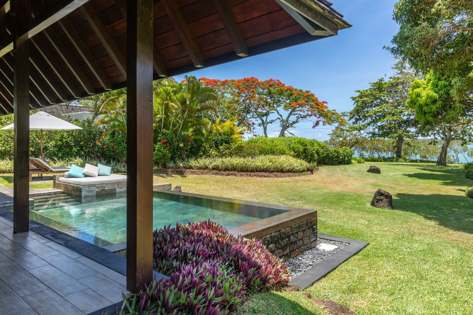 Two Bedroom Garden Residence Pool Villa, Four Seasons Resort Mauritius at Anahita