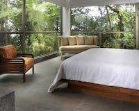 Guest bedroom at Mashpi Lodge, Ecuador
