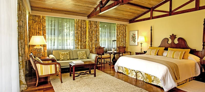 Master suite at Belmond Das Cataratas, Brazil