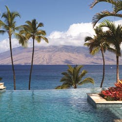 Serenity Pool at Four Seasons Resort Maui at Wailea, Hawaii