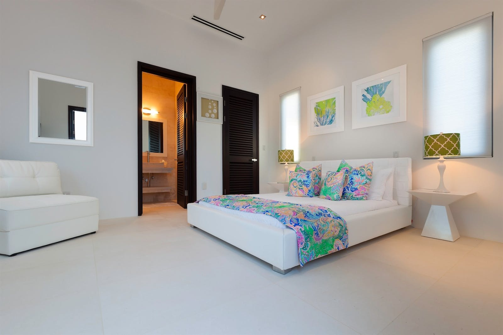 meads bedroom at the beach house anguilla
