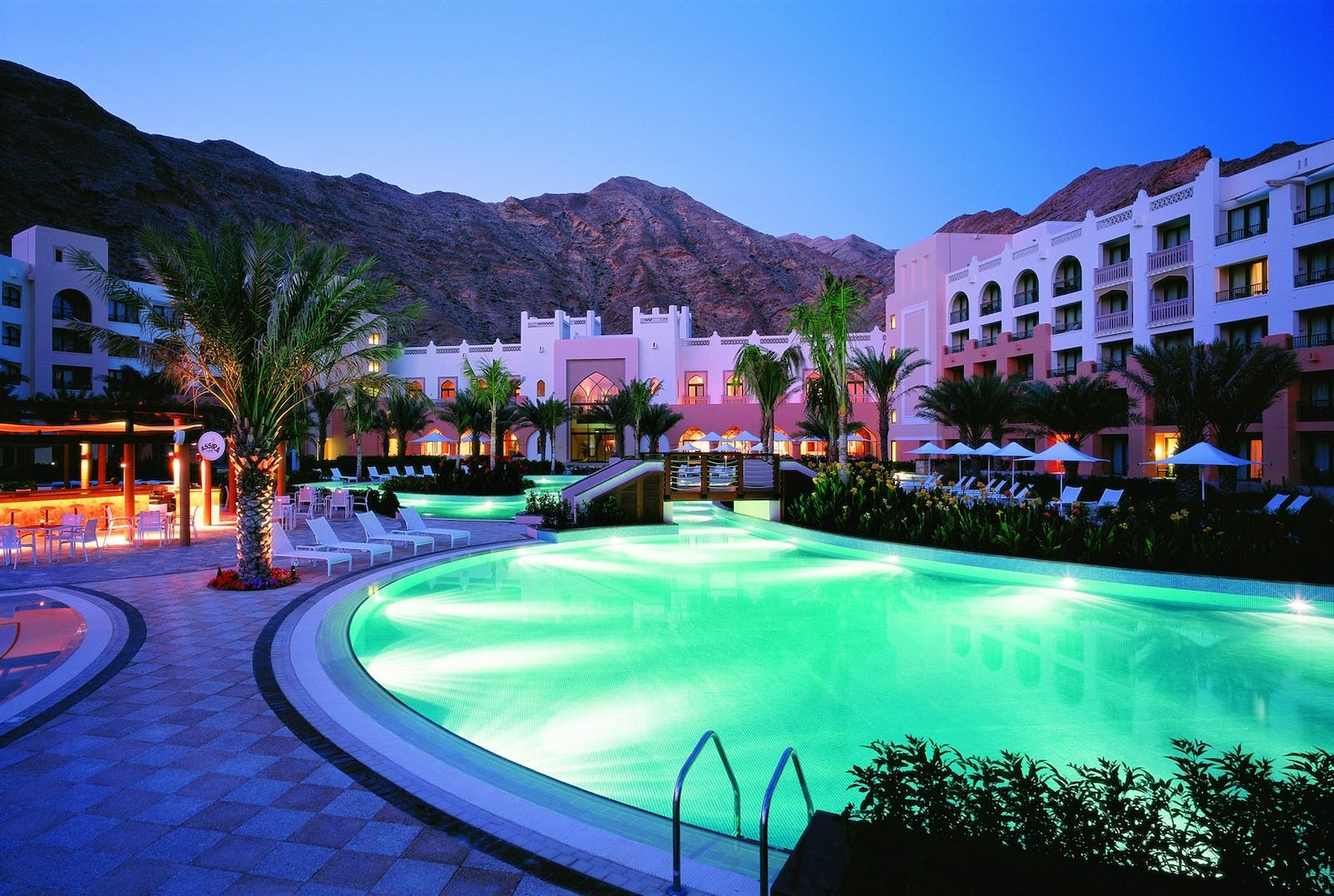 view of resort at shangri la barr al jissah resort  spa oman - al waha