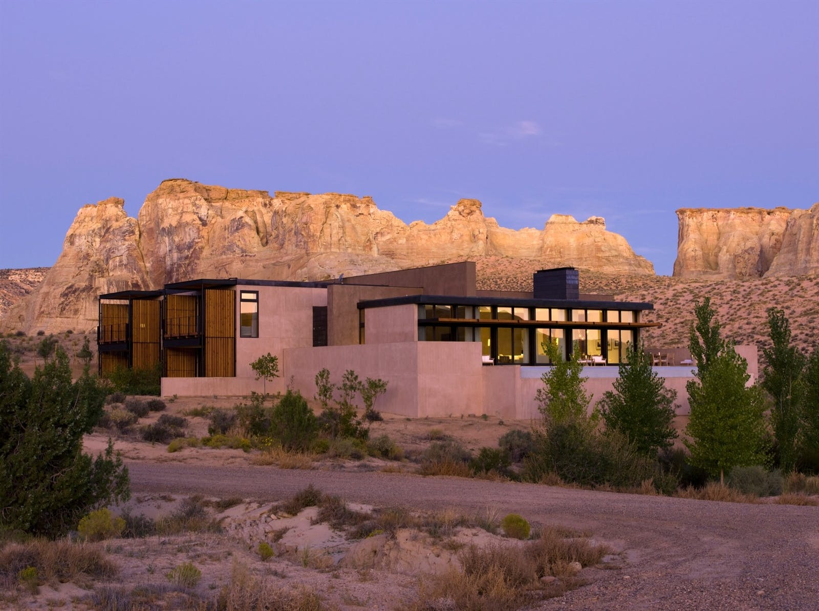 Exterior of Amangiri, Canyon Point