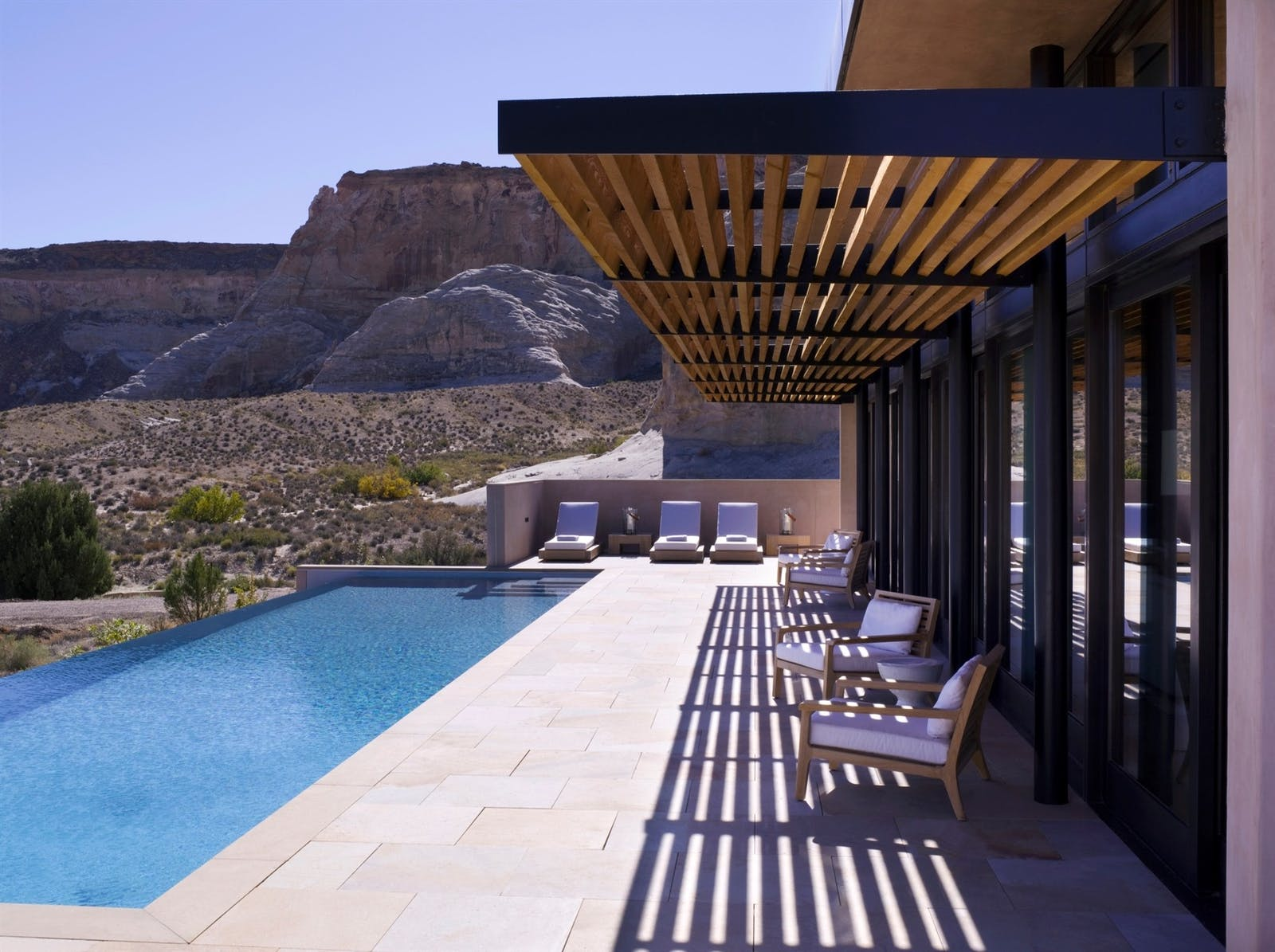 Pool Area at Amangiri, Canyon Point