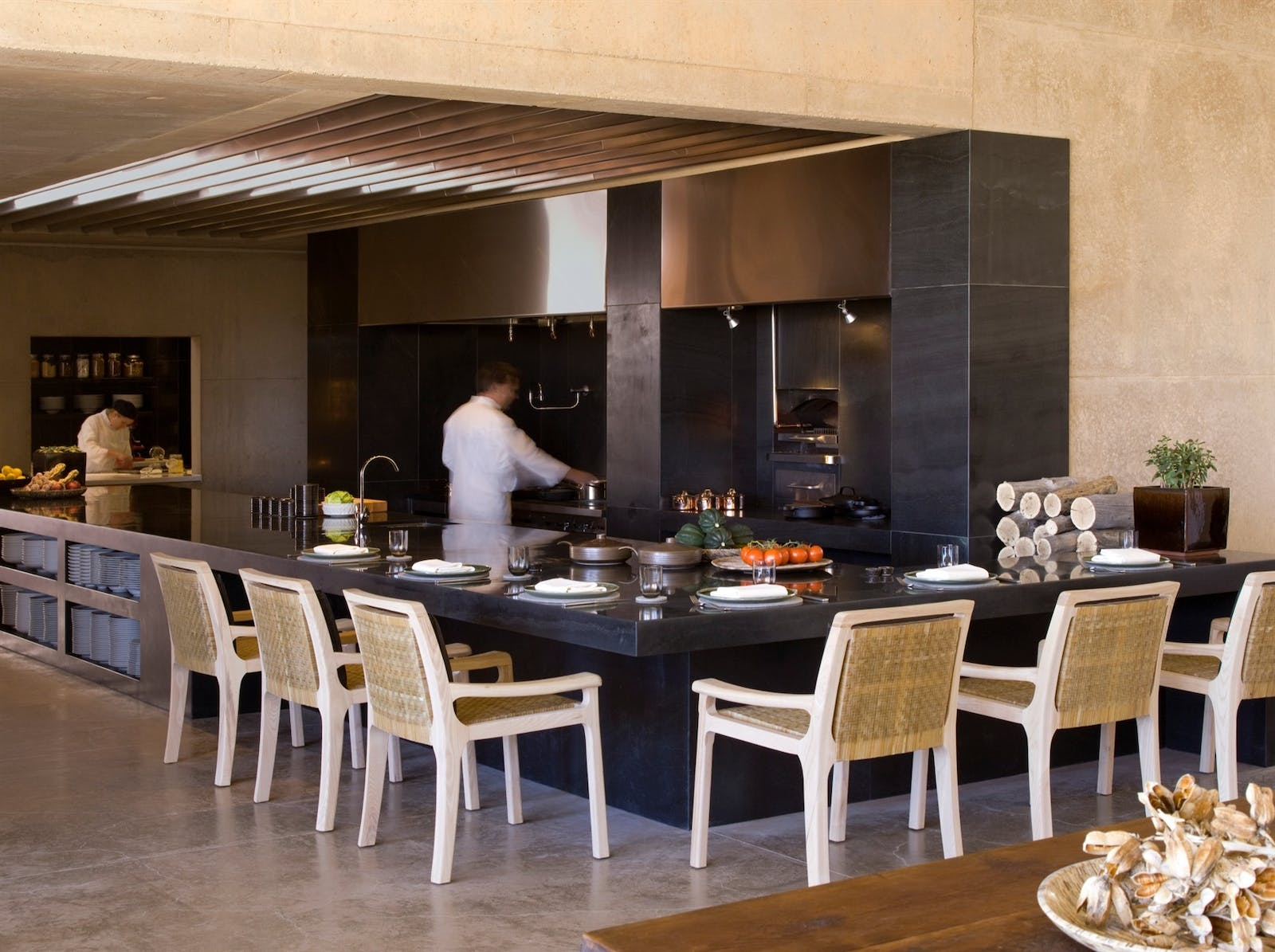 Open Kitchen at Amangiri, Canyon Point