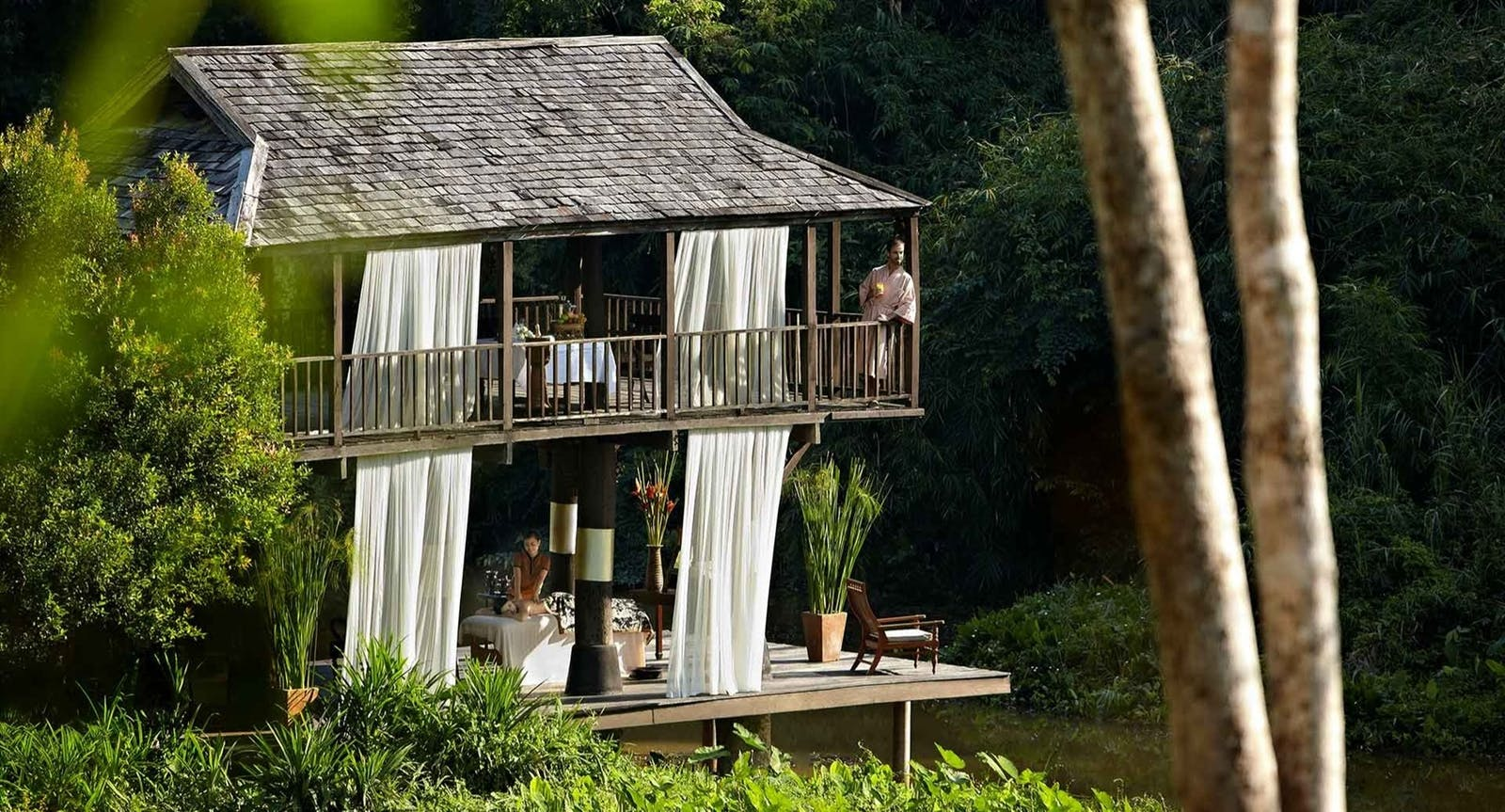 Spa by Nature at Anantara Golden Triangle Elephant Camp Resort, Chiang Rai, Thailand, Asia
