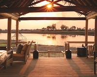 Bar at Belmond Eagle Island, Botswana
