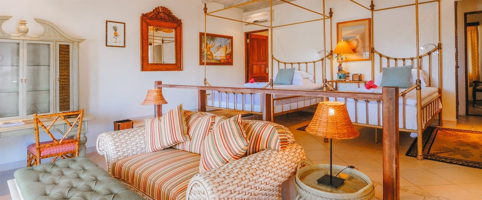 Junior Plantation Suite at Bequia Beach Hotel, St Vincent and The Grenadines