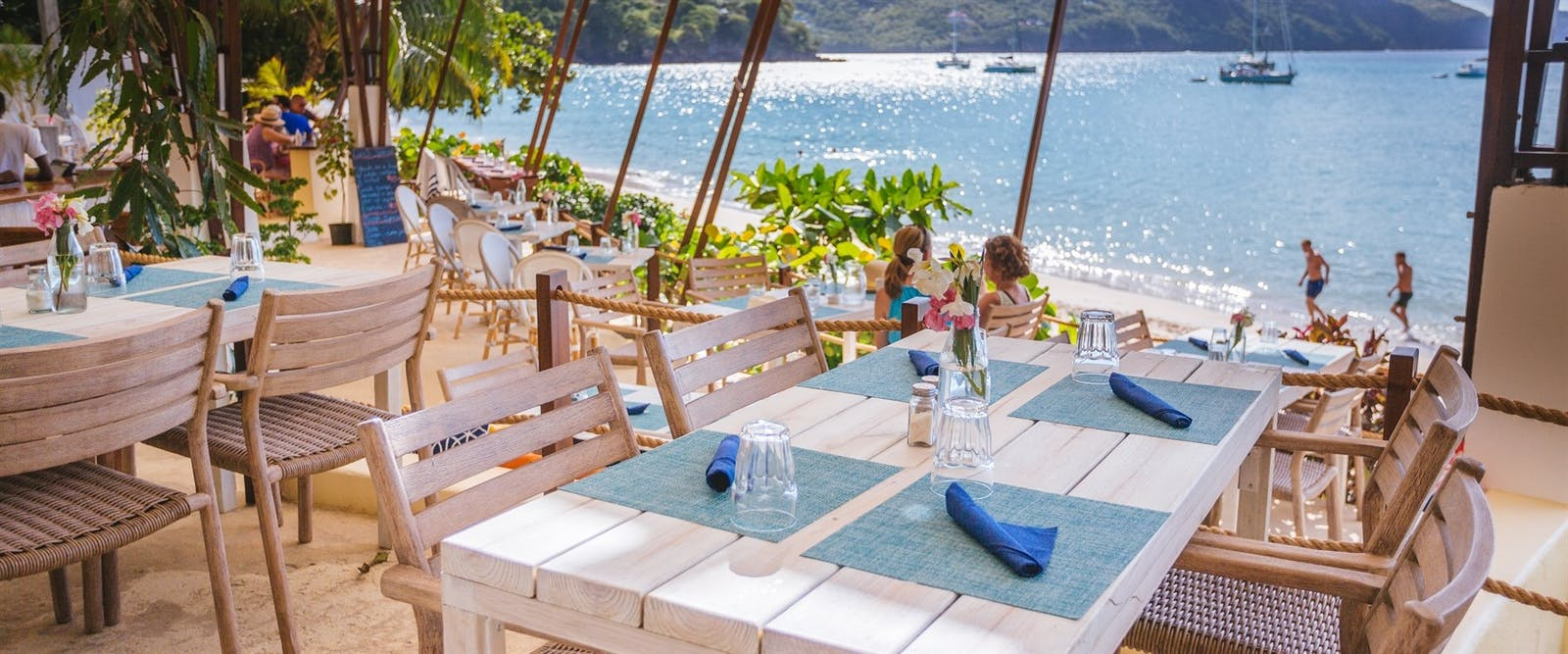 Jack's Bar at Bequia Beach Hotel, St Vincent and The Grenadines