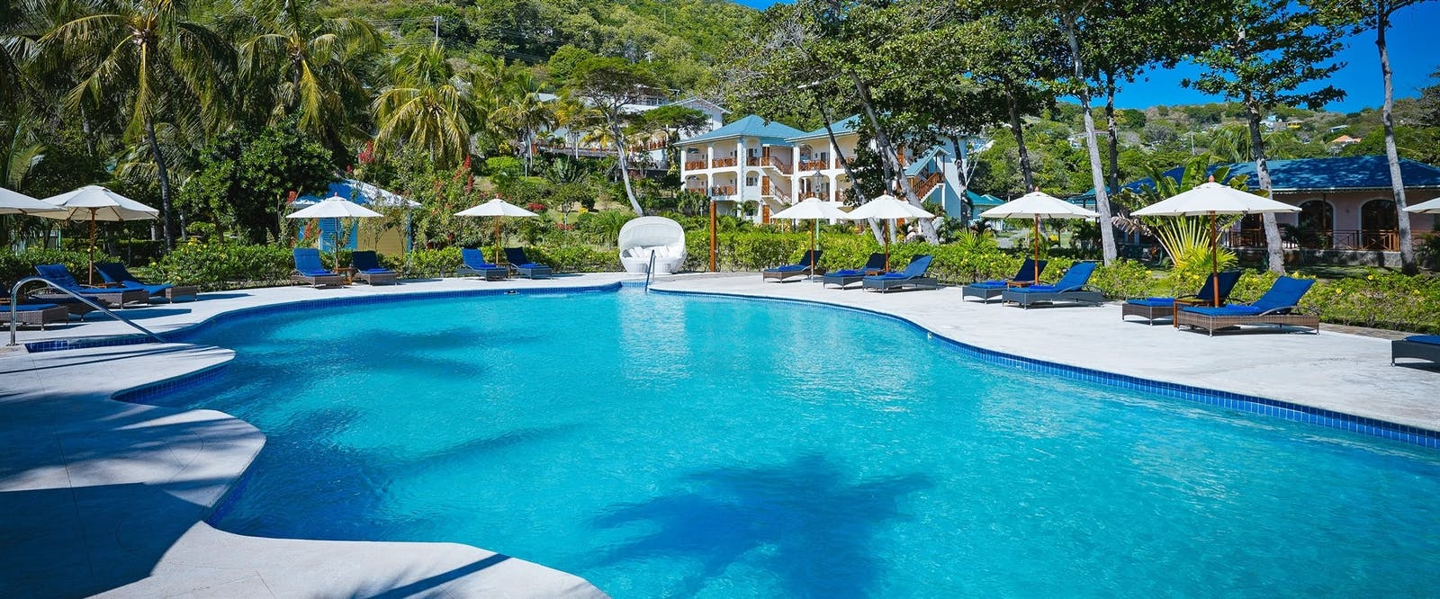 Main Pool at Bequia Beach Hotel, St Vincent and The Grenadines