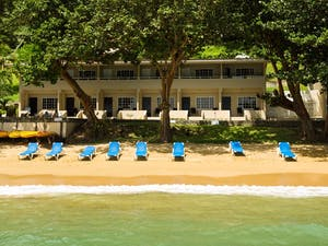 Exterior of Blue Waters Inn, Tobago