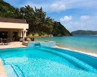 Beach Front Pool at Blue Waters Inn, Tobago