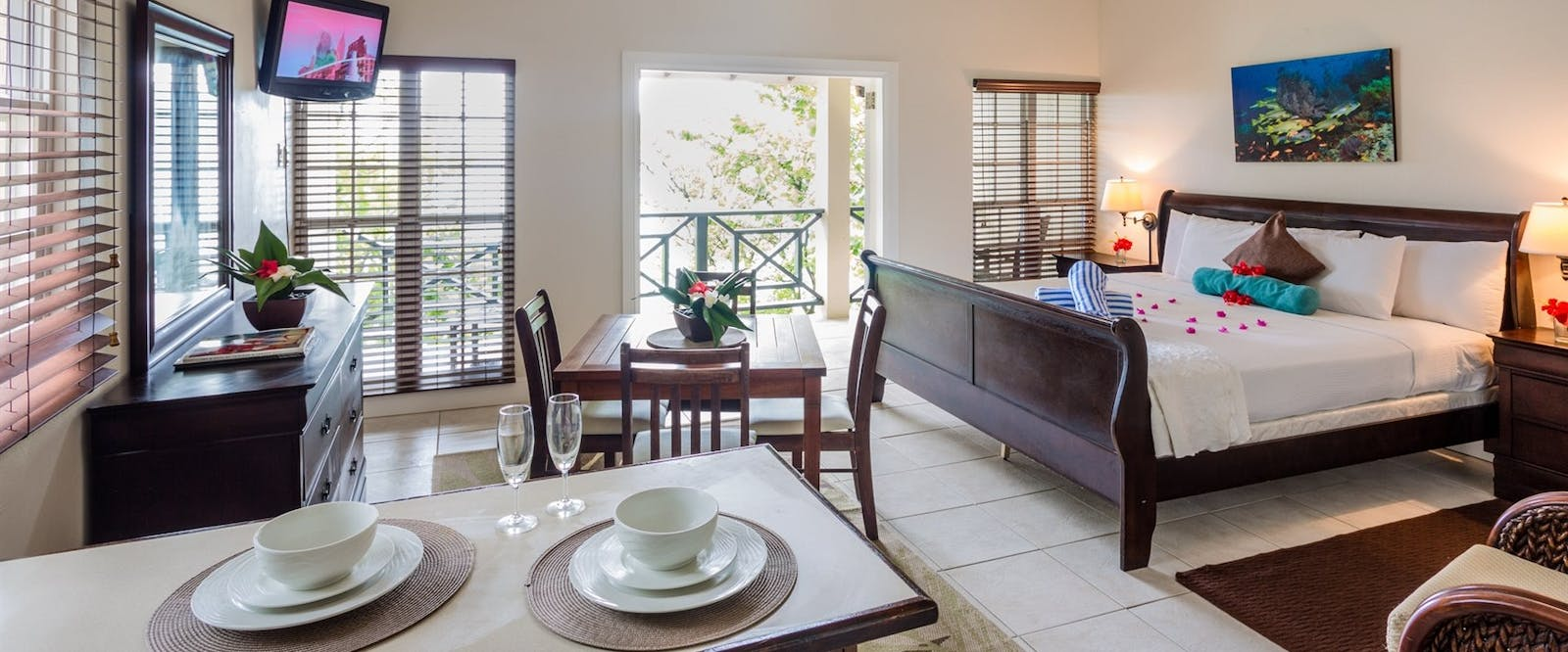 Two Bedroom Beachfront Bungalow at Blue Waters Inn, Tobago