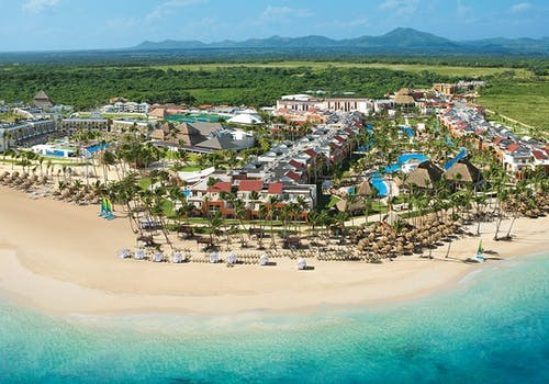 Aerial View of Breathless Punta Cana Resort & Spa