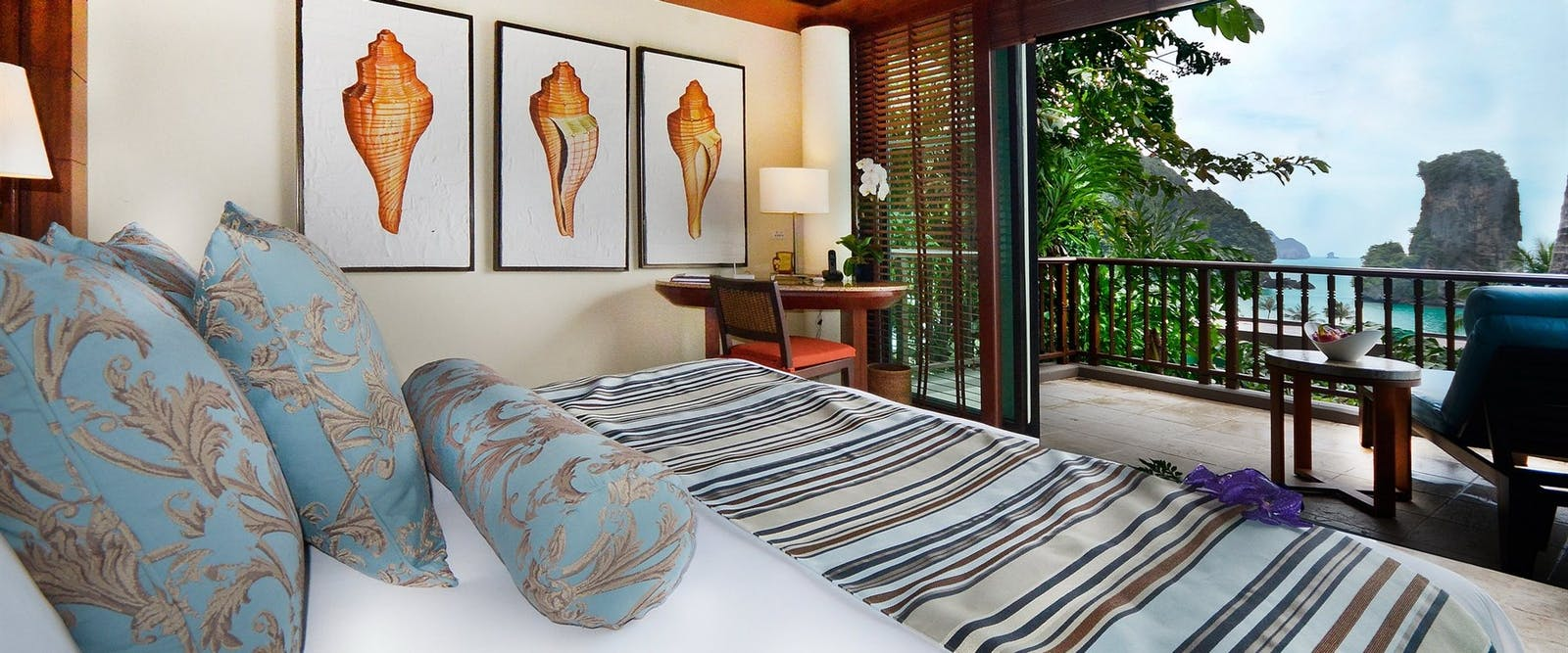 deluxe ocean facing room at Centara Grand Beach Resort & Villas Krabi