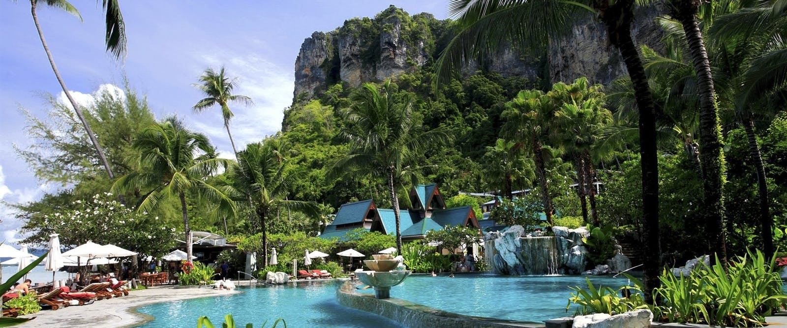 Swimming pool at Centara Grand Beach Resort & Villas Krabi