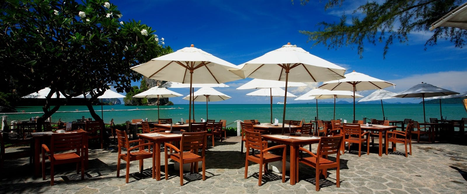 on the rocks grill restaurant  at Centara Grand Beach Resort & Villas Krabi