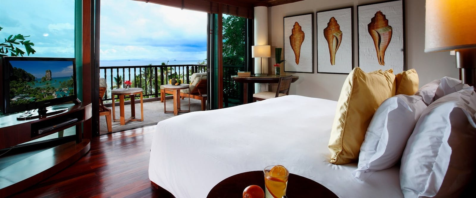 Sea front bedroom at Centara Grand Beach Resort & Villas Krabi