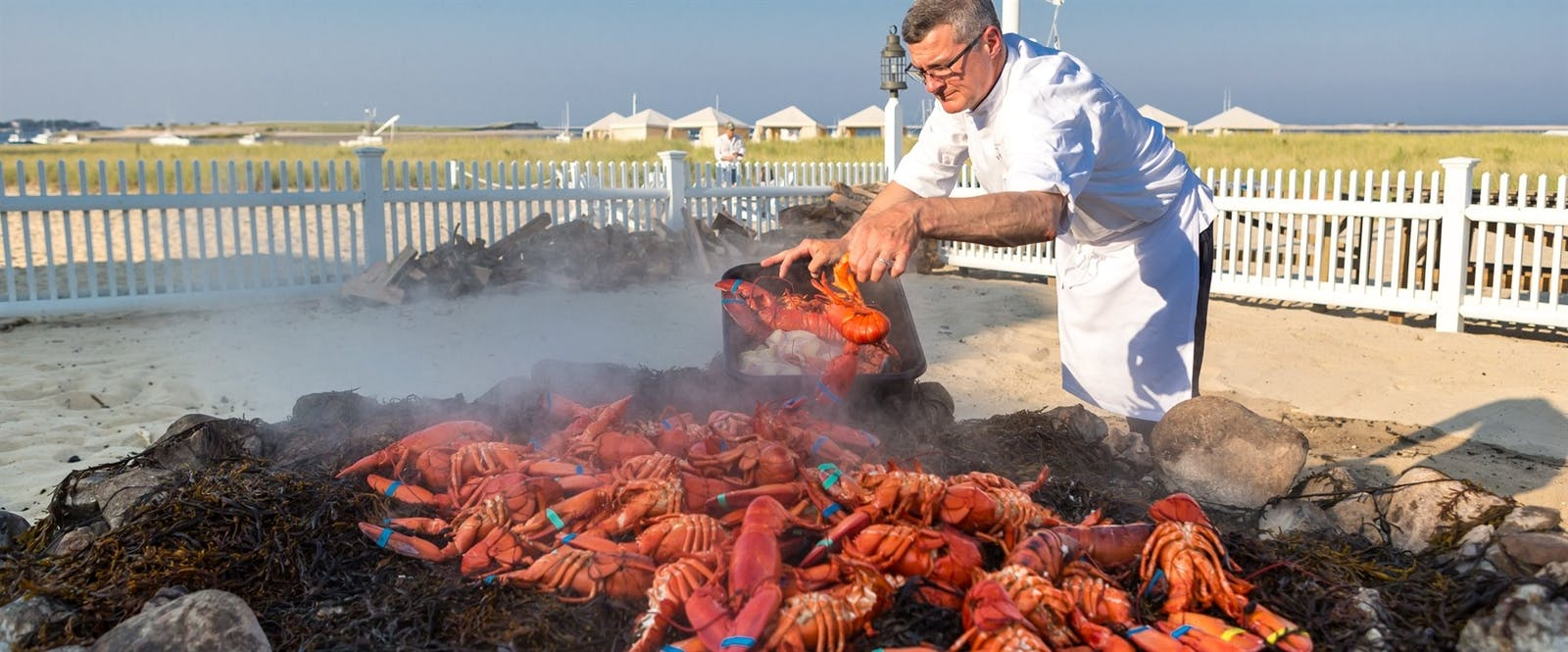 Clambake at Chatham Bars Inn, Chatham, Cape Cod