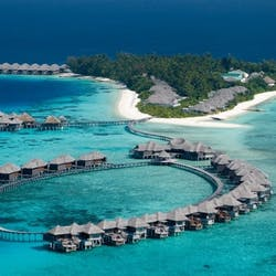 Aerial View of Coco Residence at Coco Bodu Hithi, Maldives