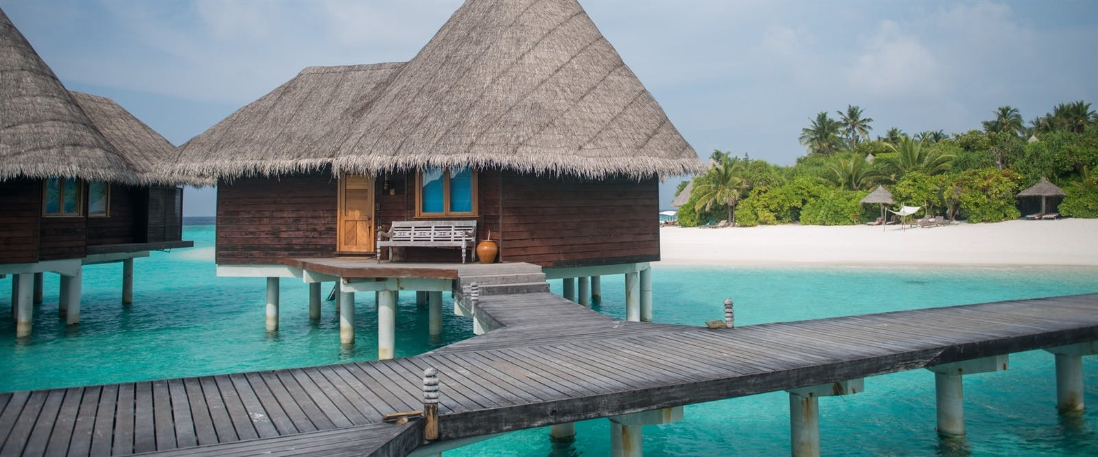 Lagoon Villa Exterior at Coco Palm Dhuni Kolhu, Maldives, Indian Ocean