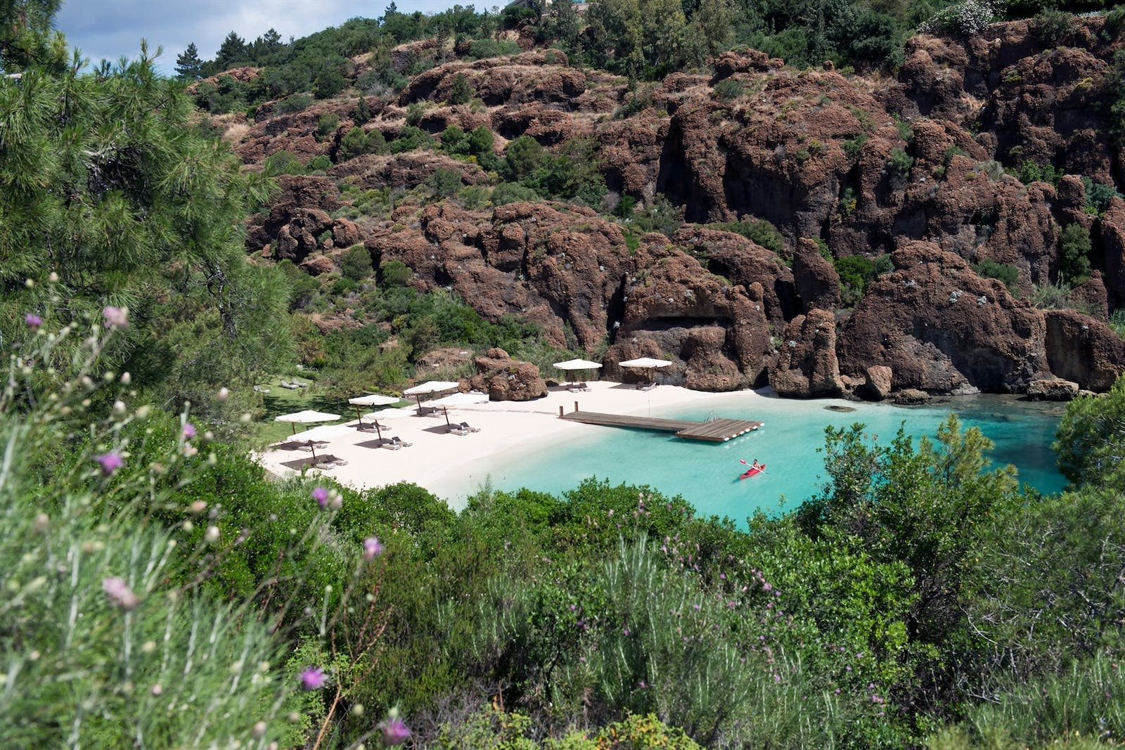 Secret Beach at D-Hotel Maris, Turkey
