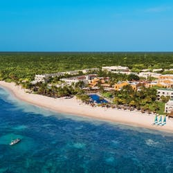 Aerial of  Dreams Tulum Resort and Spa, Riviera Maya, Mexico