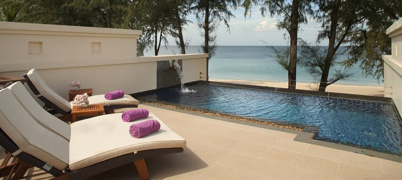laguna pool villa rooftop pool at dusit thani laguna phuket