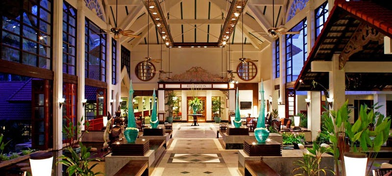 ruen thai restaurant at dusit thani laguna phuket
